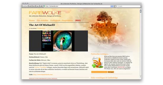 Der Blog farbwolke