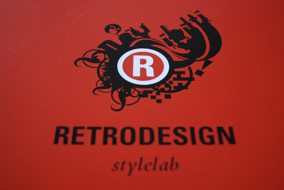 retro design logo