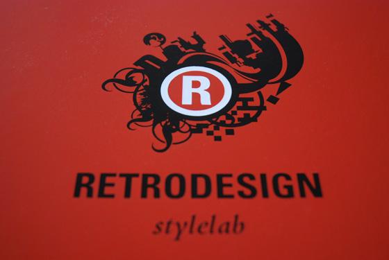 retro design logo