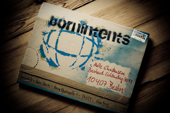 bornintents - verpackung design