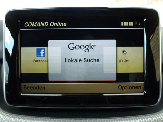 Comand Online - Mercedes
